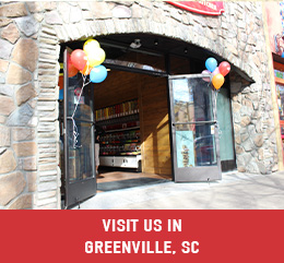 Greenville South Carolina Candy Store and Ice Cream Shop
