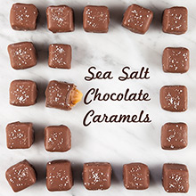 Sea Salt Chocolate Caramels