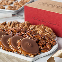 Classic Collection of Pralines, Loggerheads & Glazed