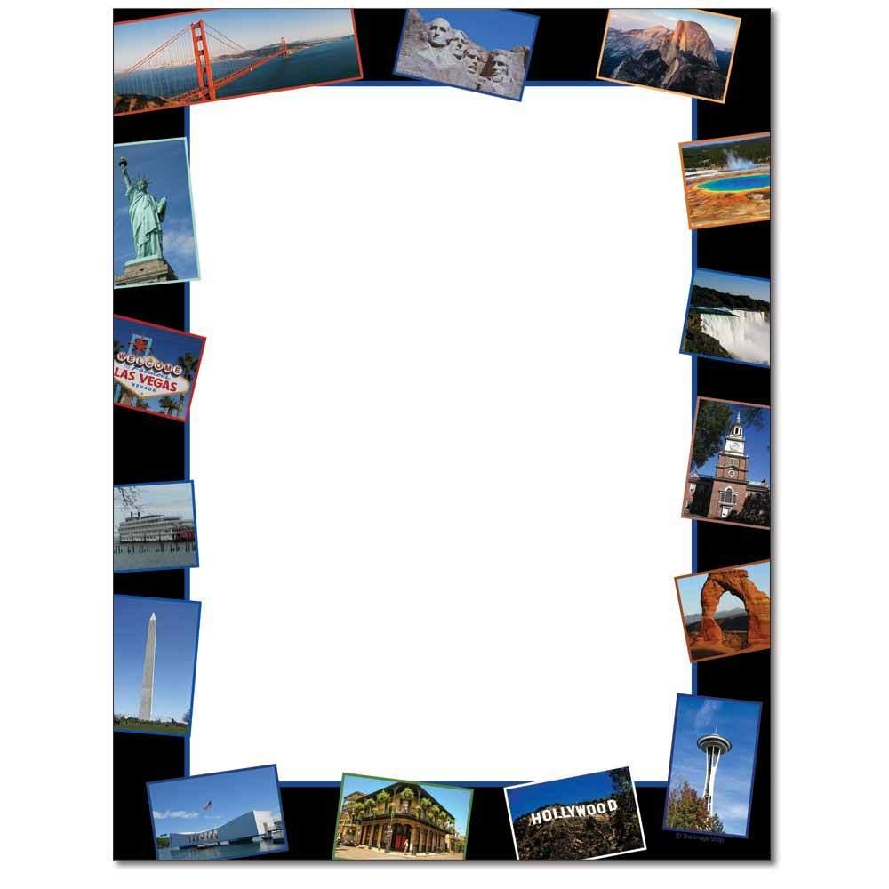 American Landmarks Letterhead