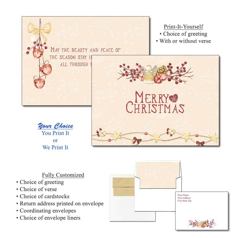 Angel Bells Greeting Cards