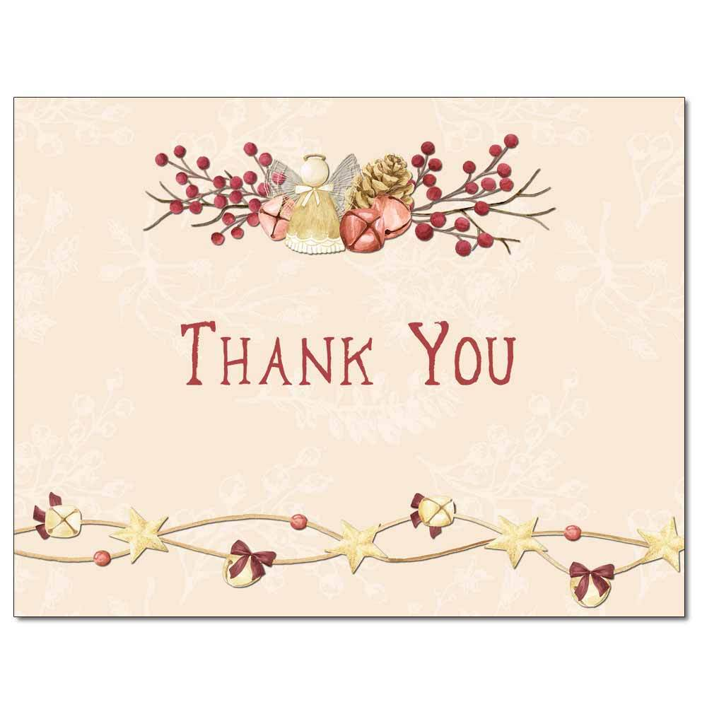 Angel Bells Thank You Card
