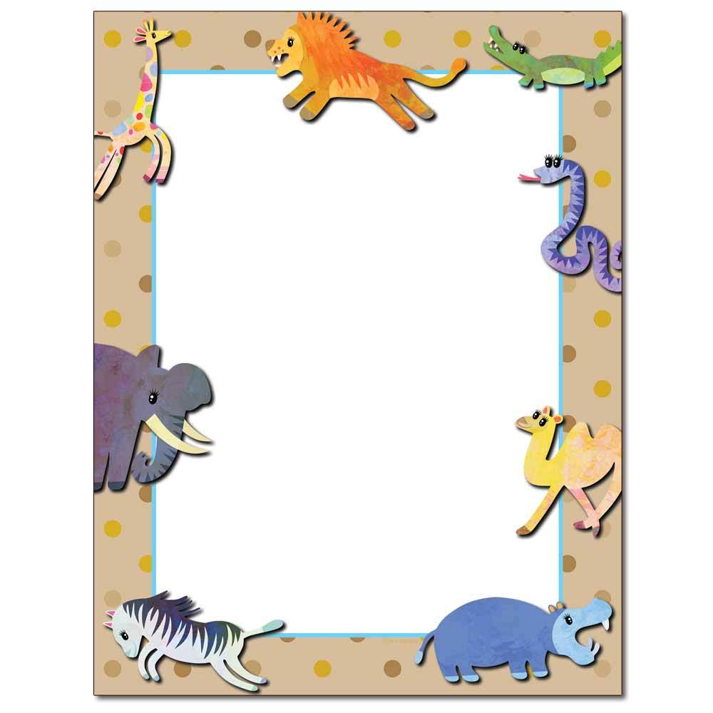 Buy Animals Letterhead The Image Shop