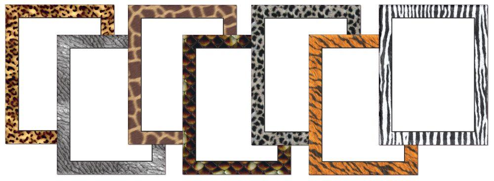 Animal Skins Assorted Letterhead