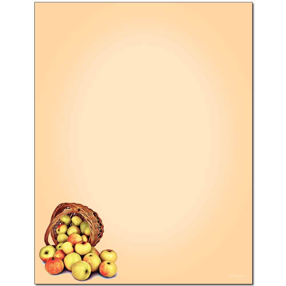 Apple Basket Letterhead
