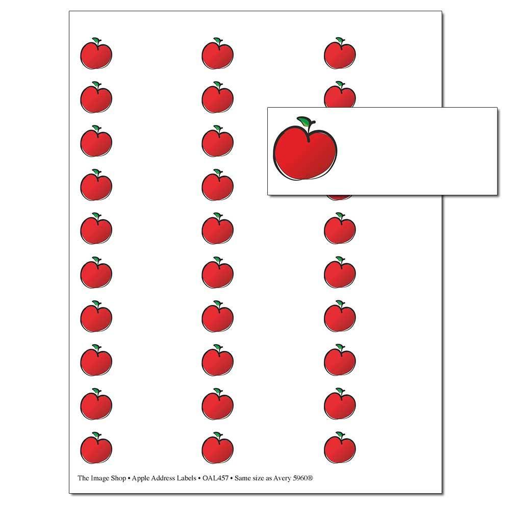 Apple for the Teacher Address Labels