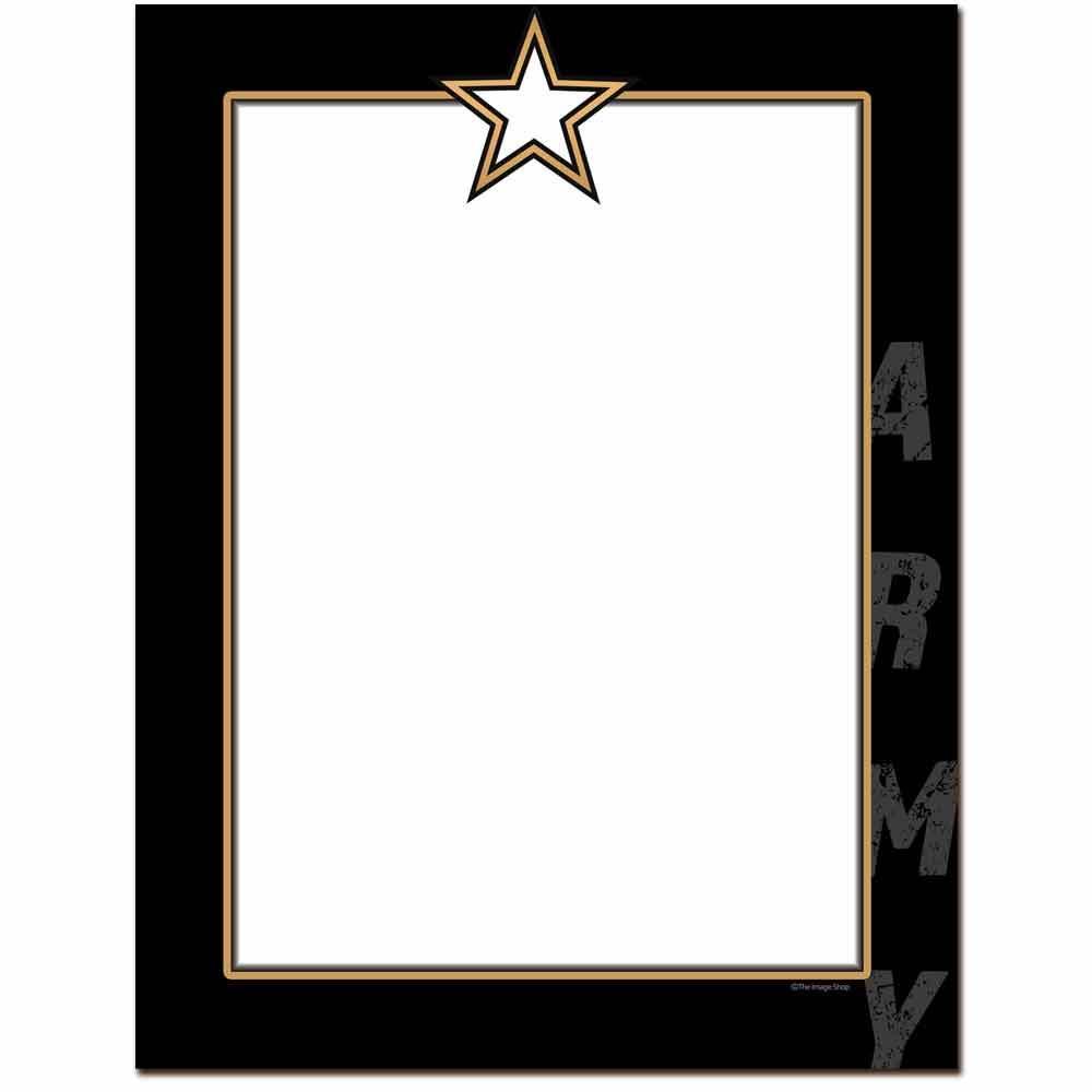 Army Letterhead