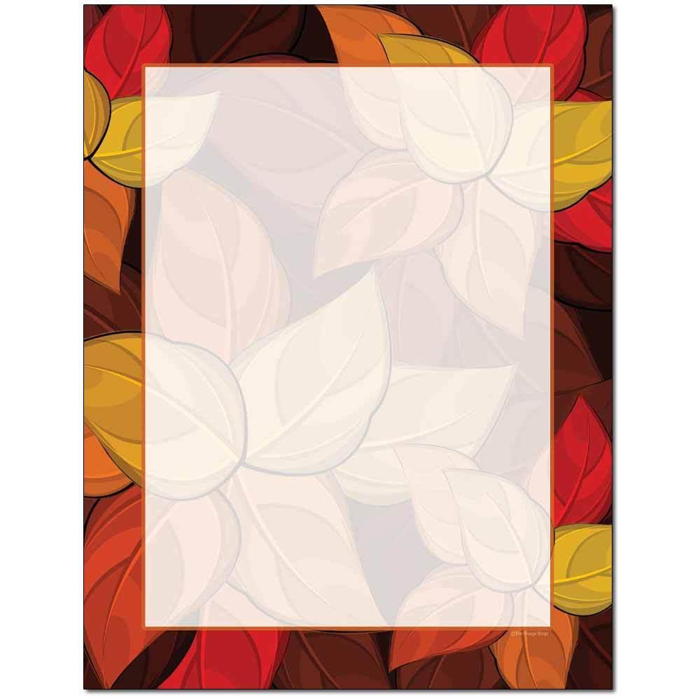 Artistic Leaves Letterhead