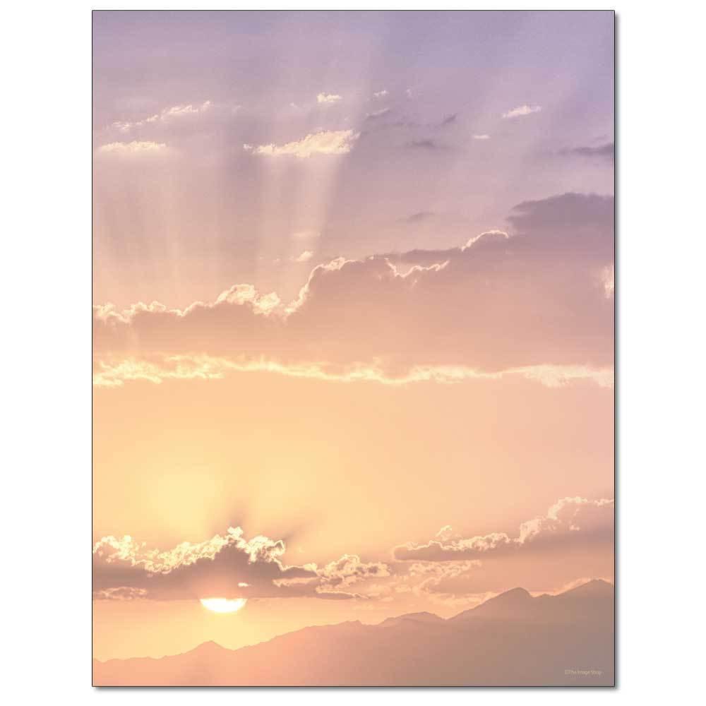 At Sunset Letterhead