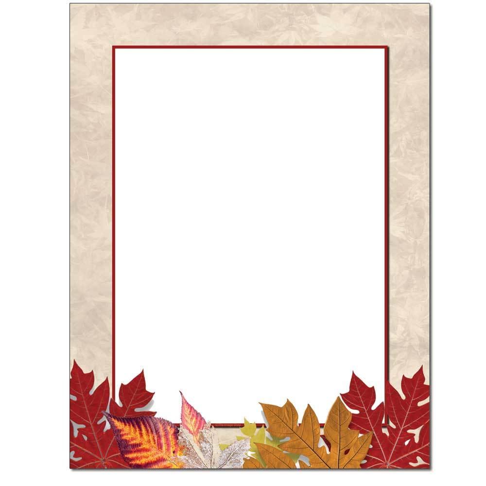 Autumnal Letterhead