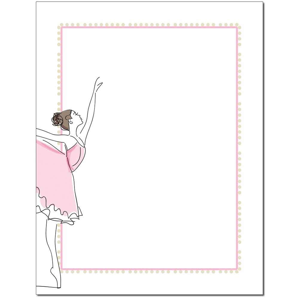 Ballerina Letterhead