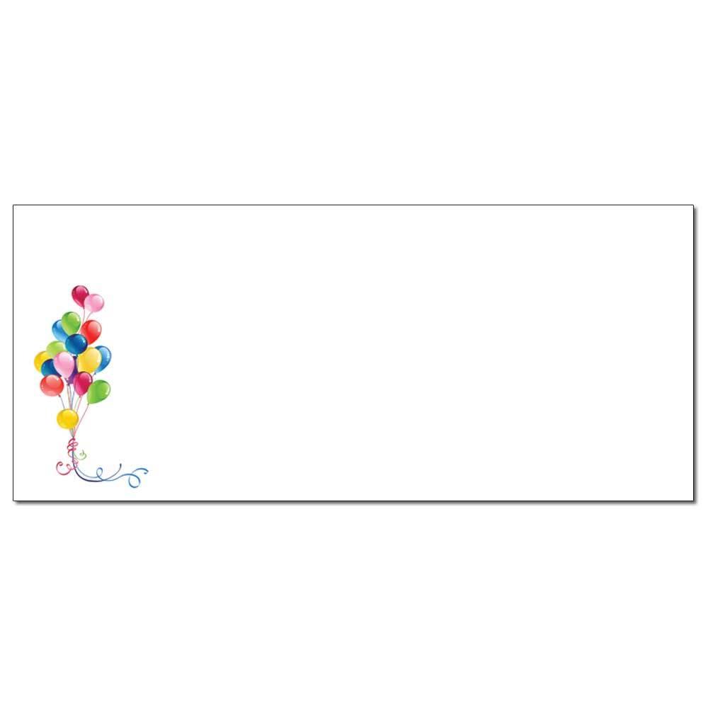 Balloon Bouquet Envelopes
