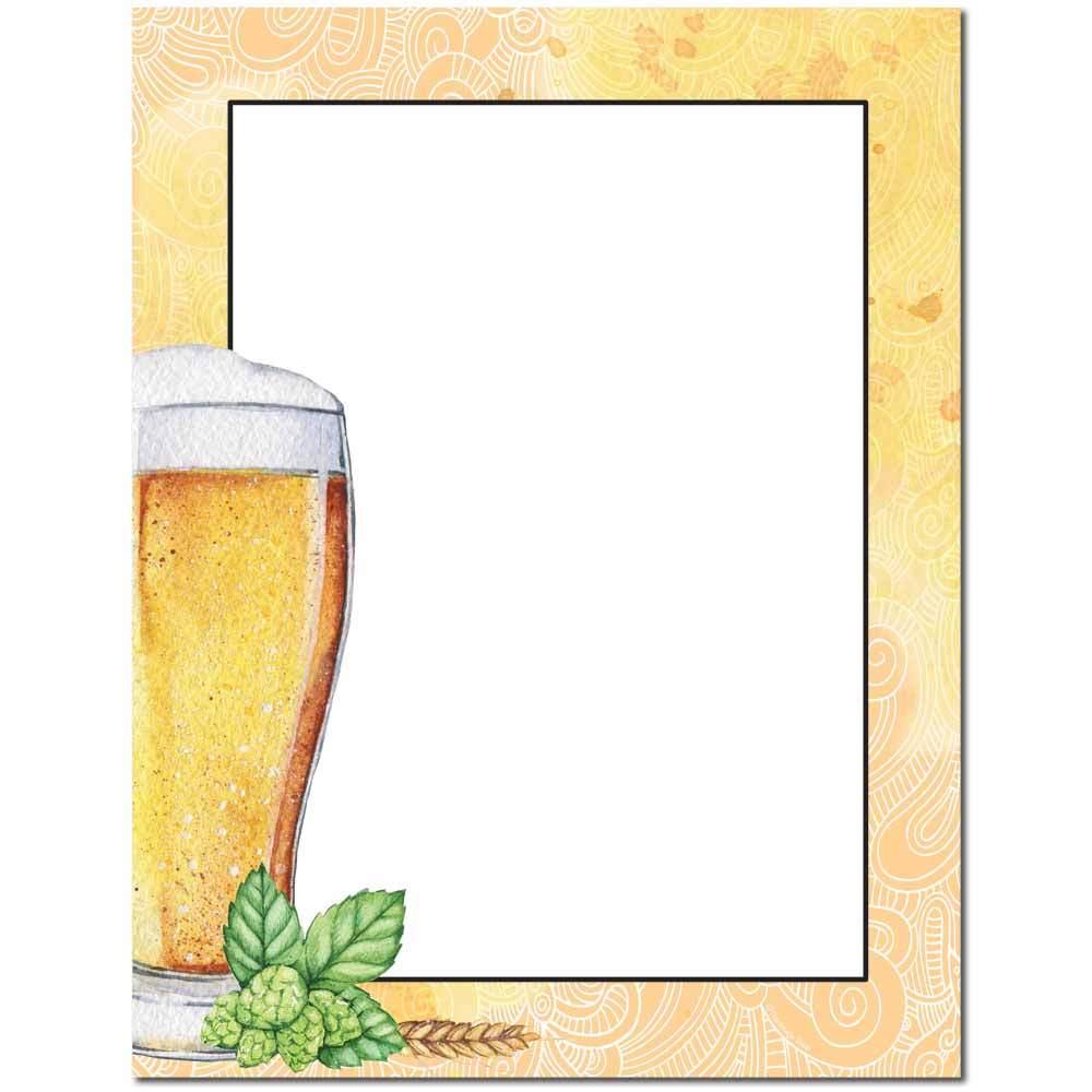 Beer Glass Letterhead
