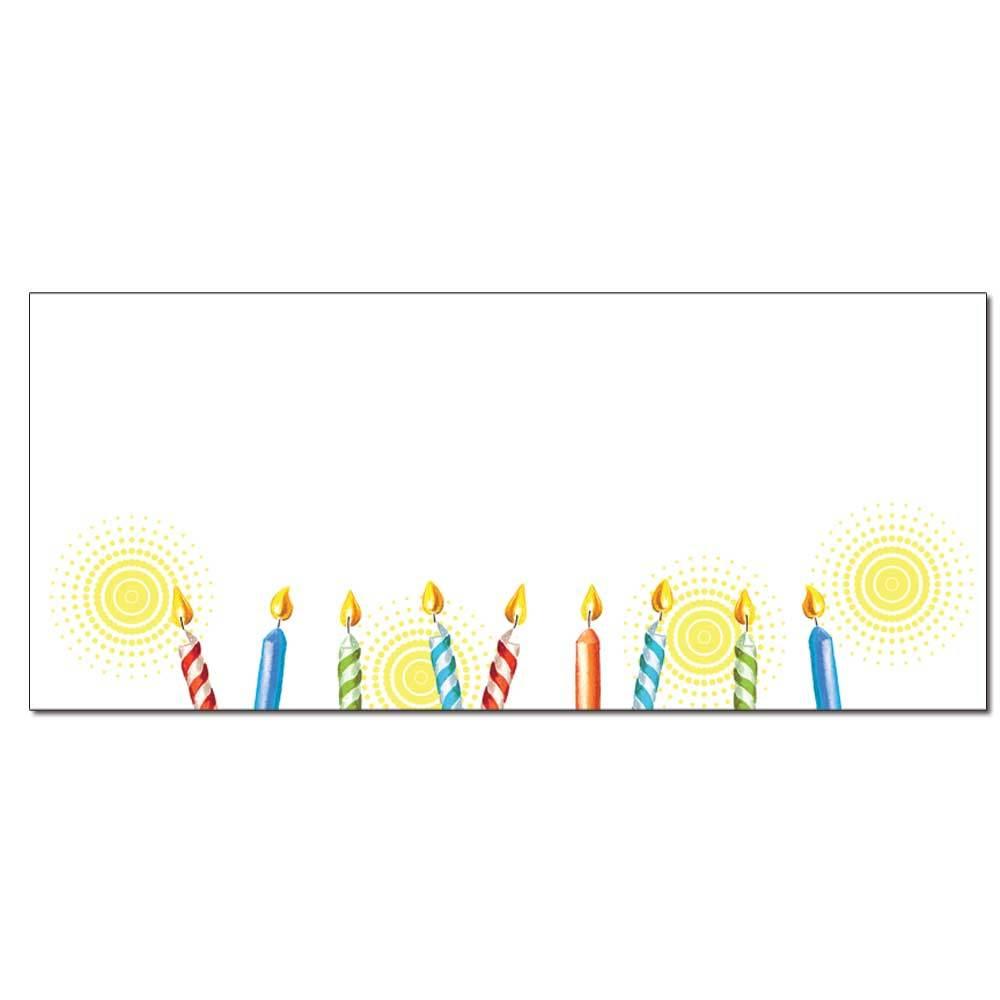 Birthday Cake Envelopes