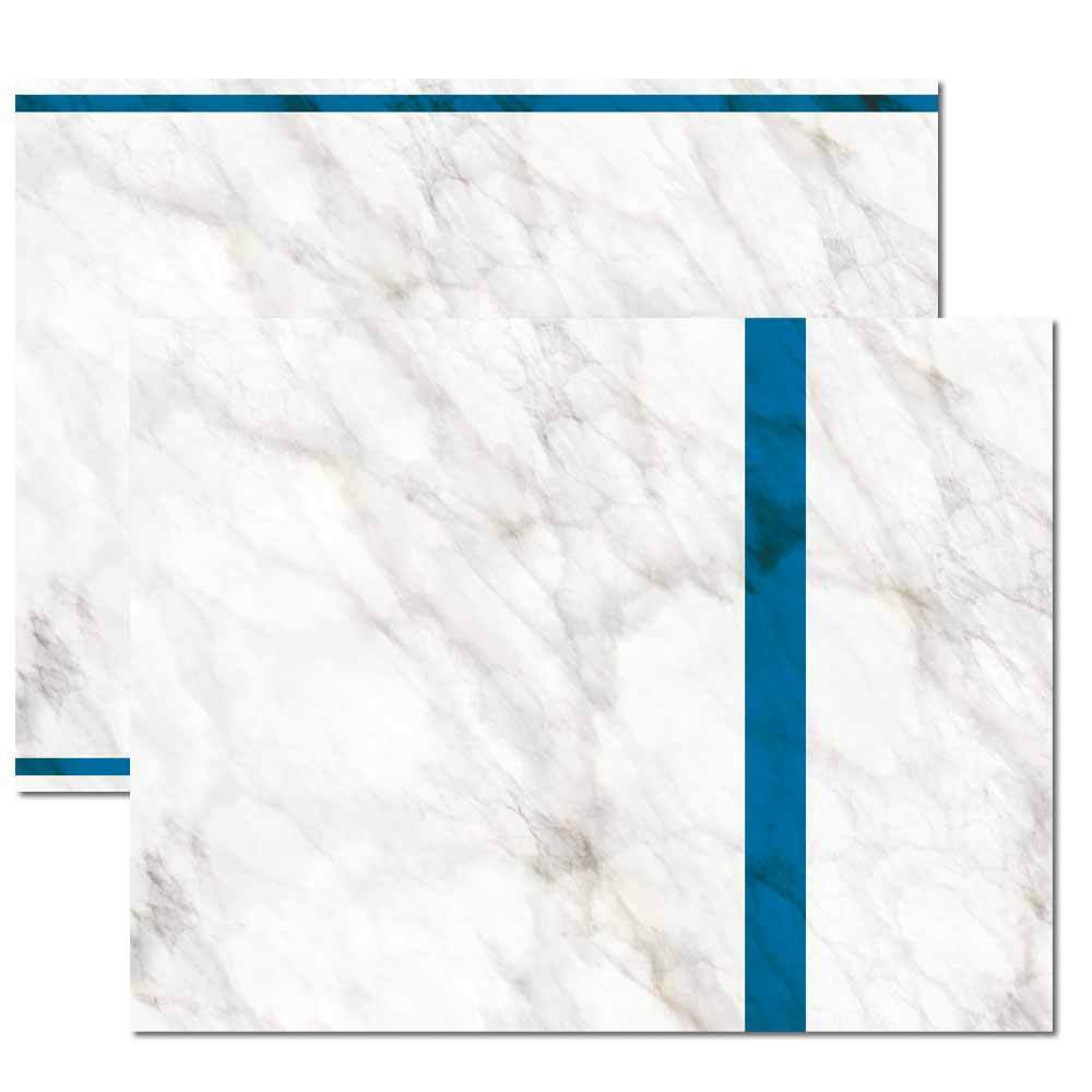 Blue Marble Trifold Brochure
