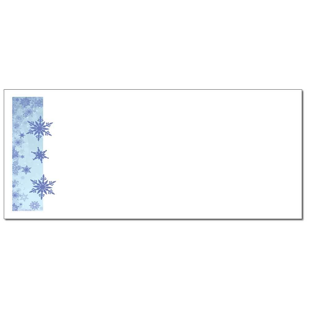 Blue Snowflakes Envelopes