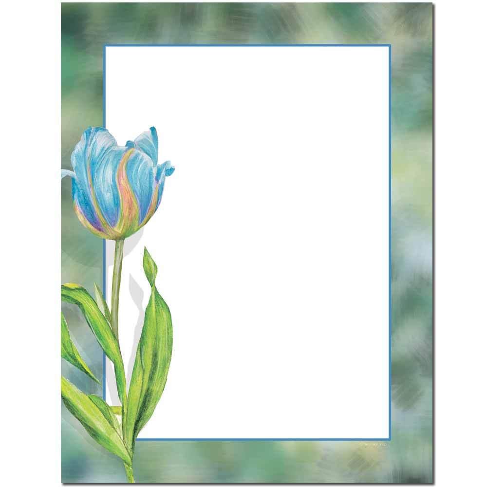 Blue Tulip Letterhead
