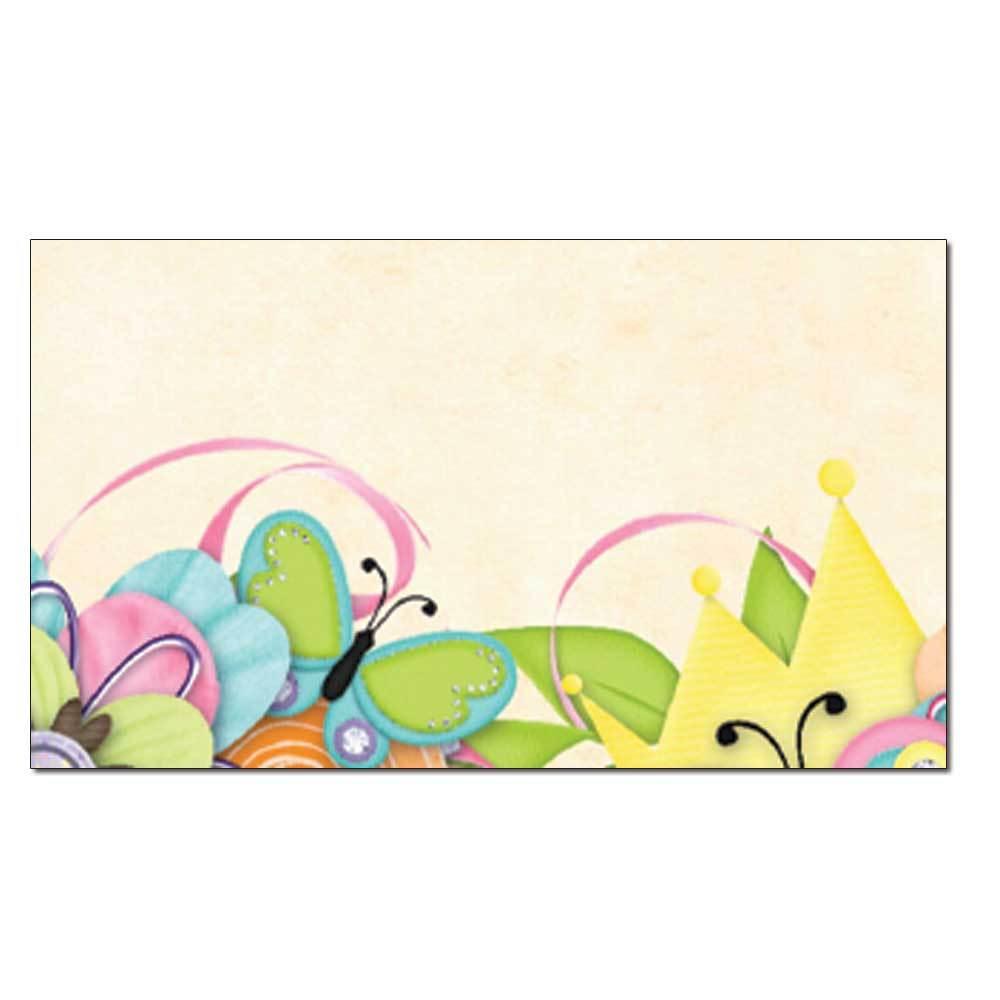 Butterflies & Buttons Place Card