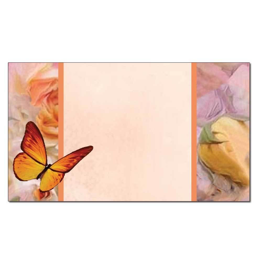 Butterflies & Flowers Place Card