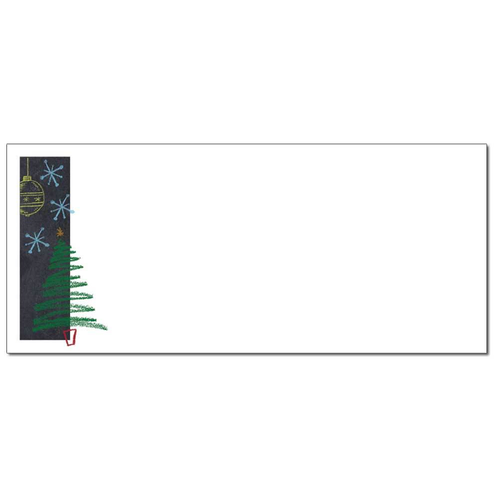 Christmas Chalkboard Envelopes