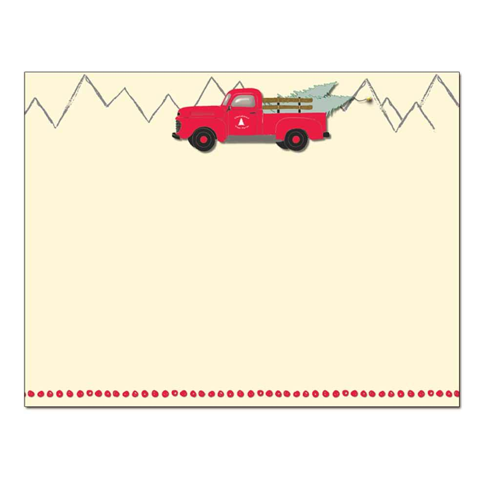 Cheerful Delivery Post Card 48pk