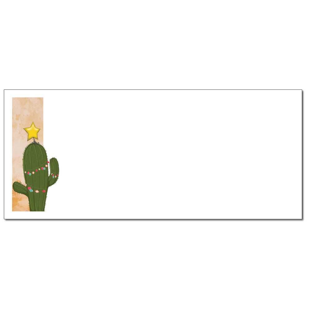 Christmas Cactus Envelopes