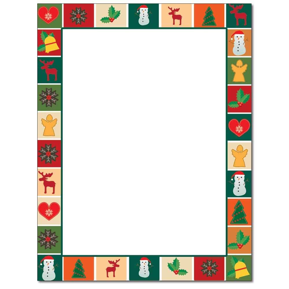 Christmas Quilt Letterhead