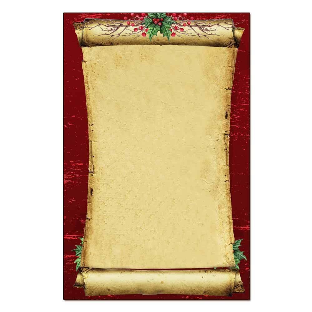 Christmas Scroll Jumbo Cards 48pk