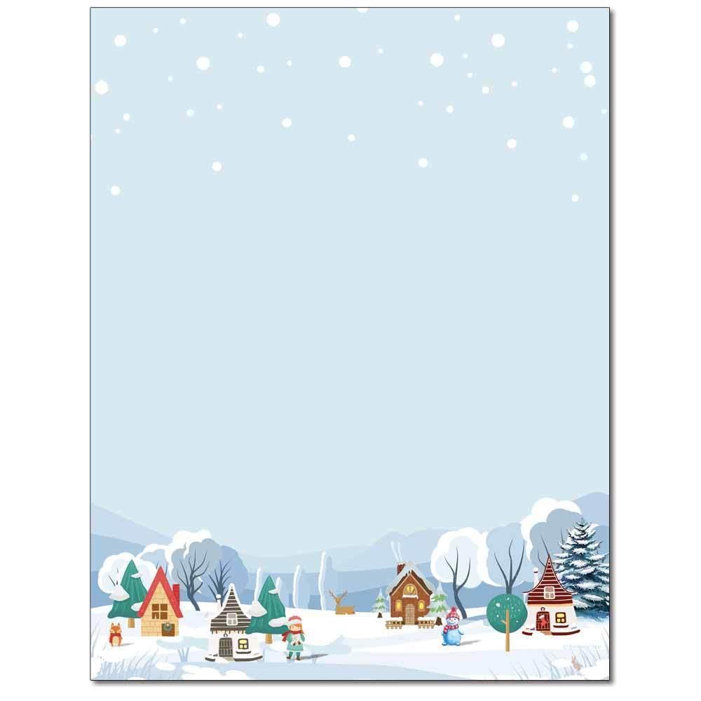 Christmas Village Letterhead