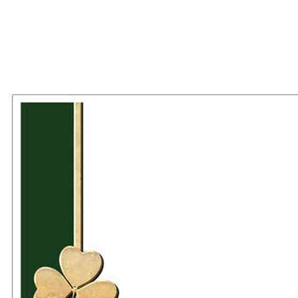 Classy Clover Envelopes