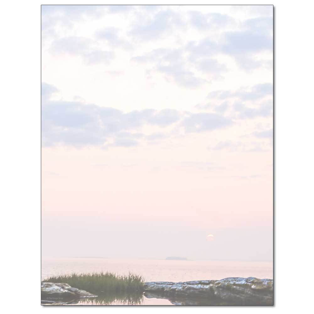 Coastal Sunrise Letterhead