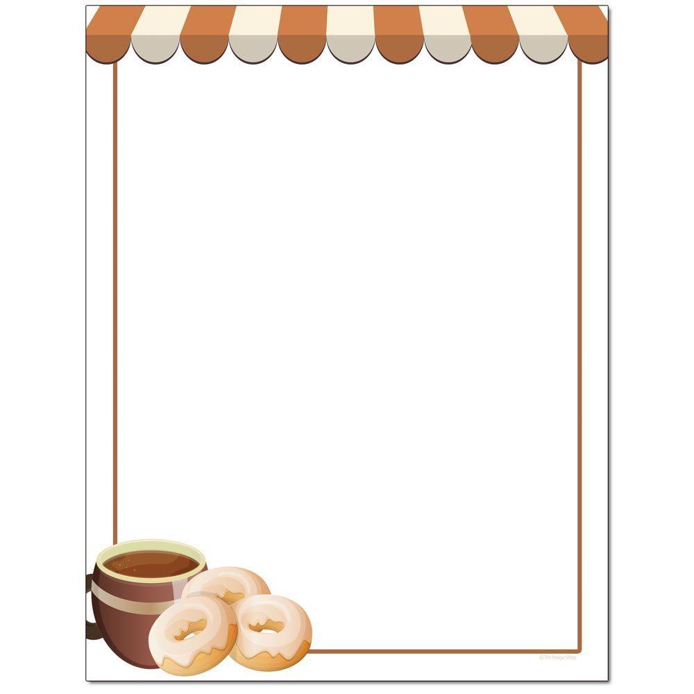 Coffee & Doughnuts Letterhead