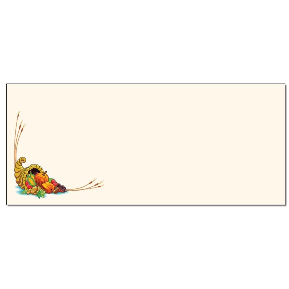 Cornucopia Envelopes