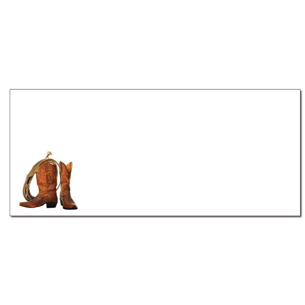 Cowboy Boots Envelopes