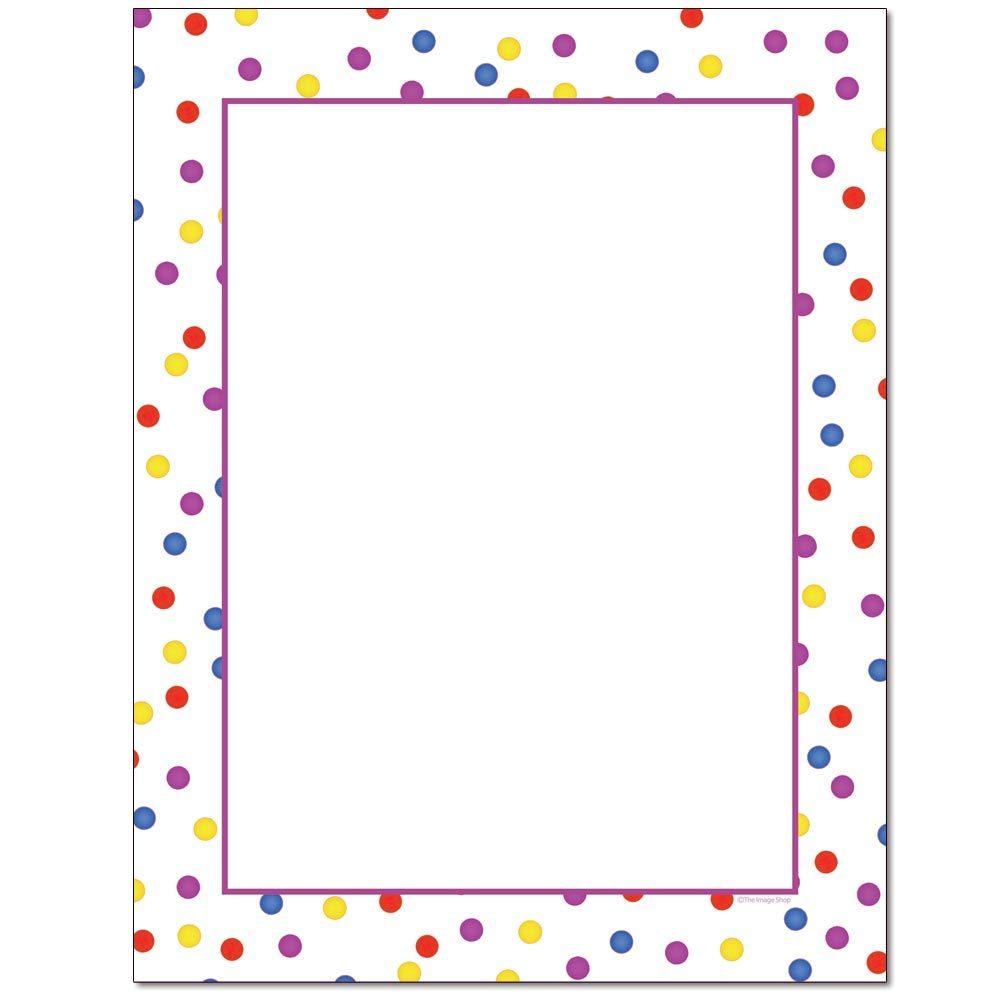 Fun Dots Letterhead