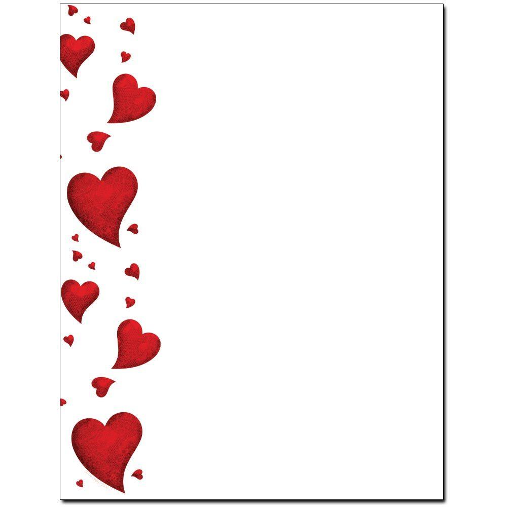 Dancing Hearts Letterhead