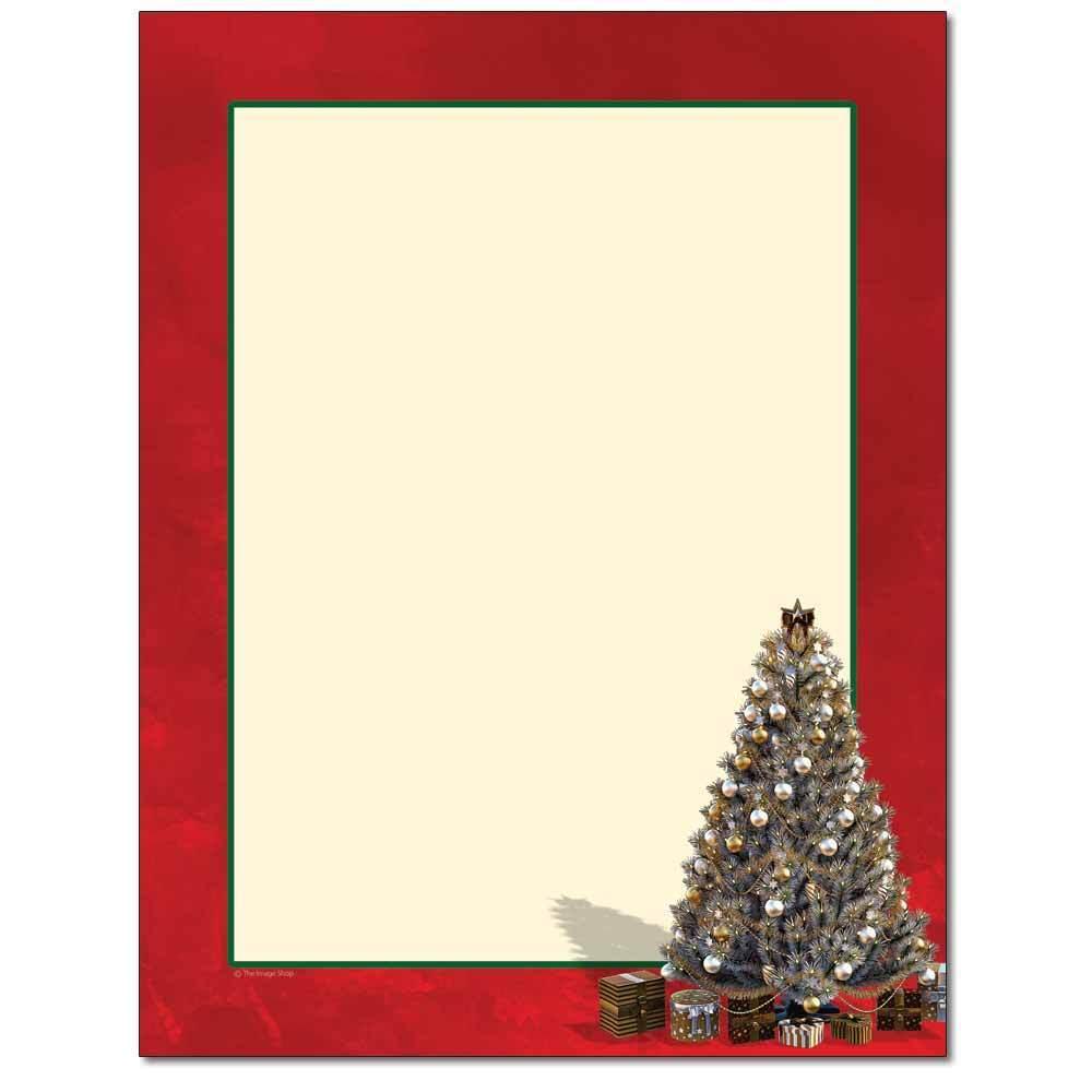 Decorated Tree Letterhead