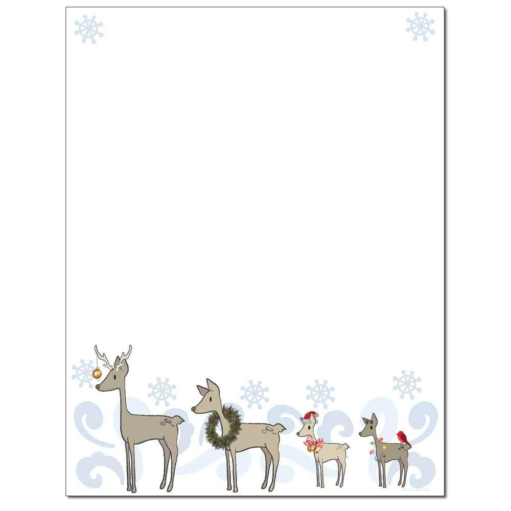 Deer Family Letterhead