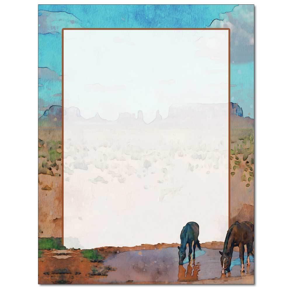 Desert Oasis Letterhead