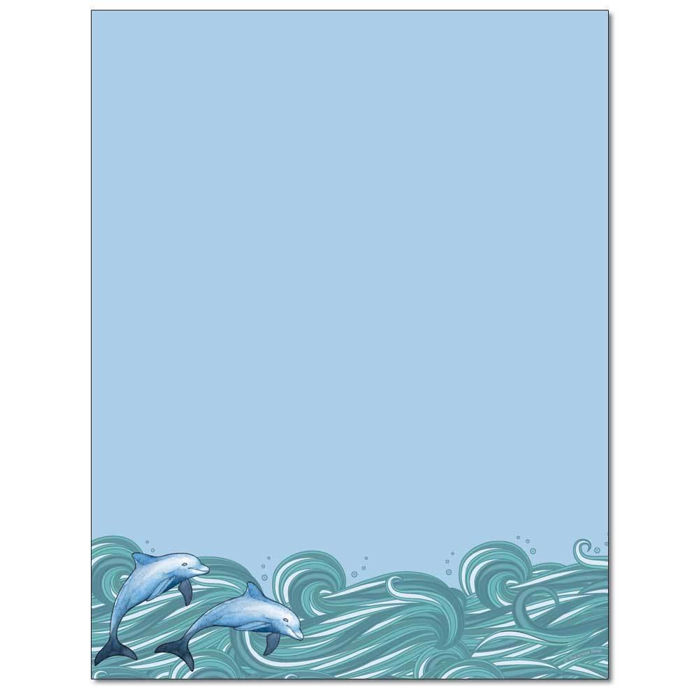 Dolphins Letterhead