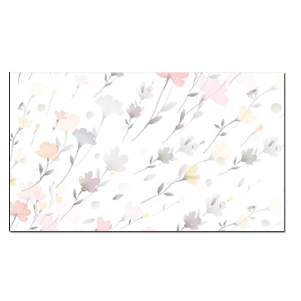Drifting Flowers Place Card