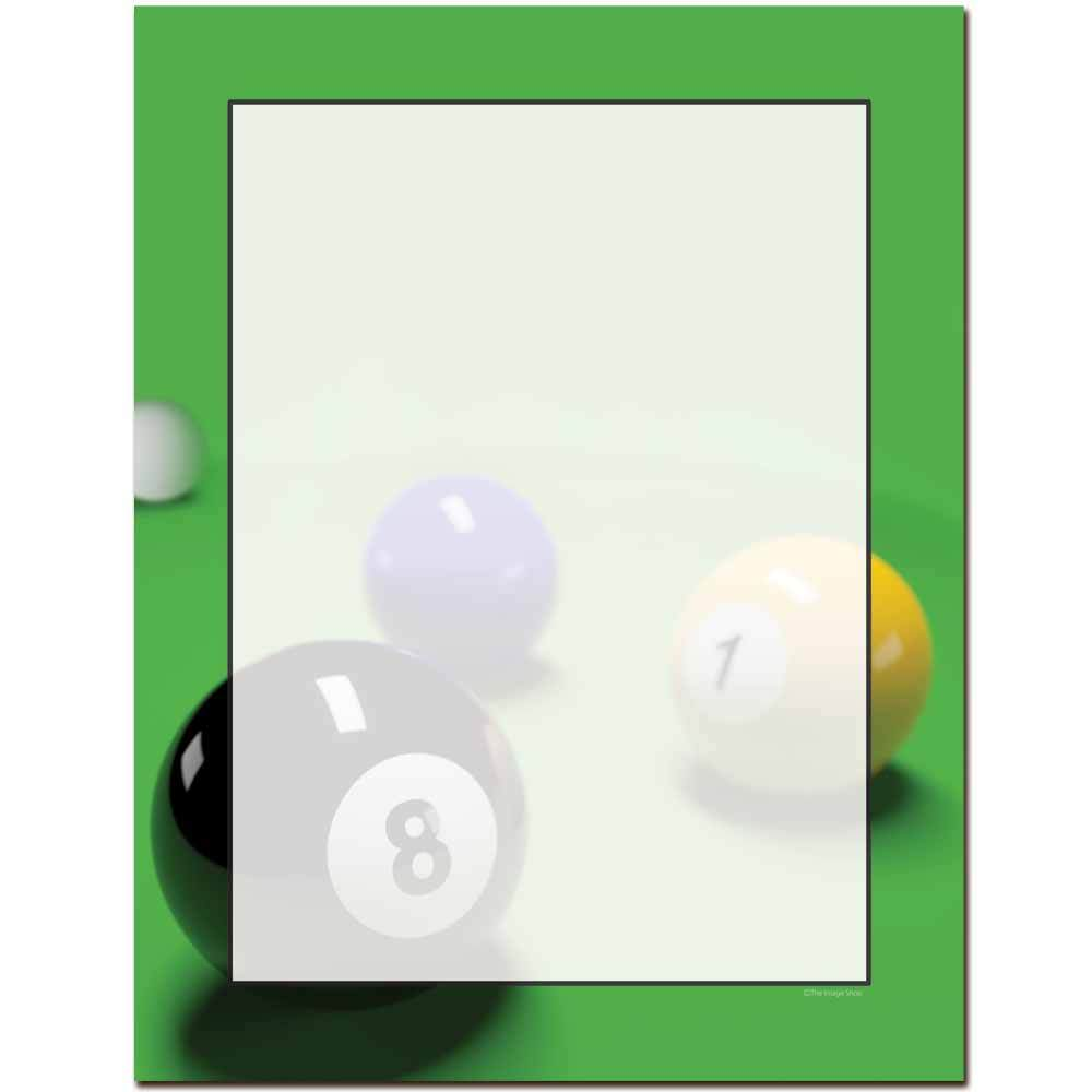 Eight Ball Letterhead