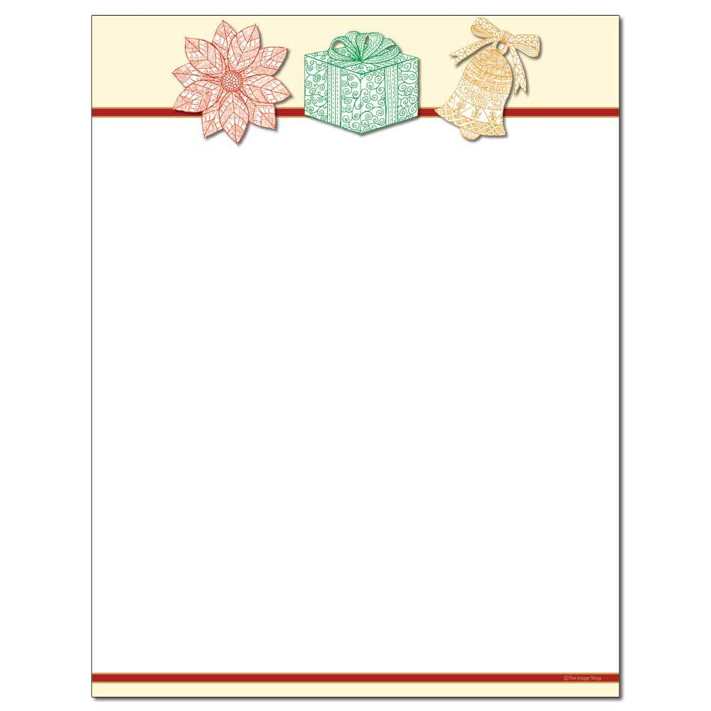 Etched Icons Letterhead