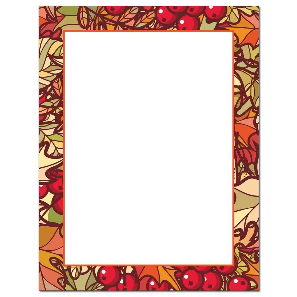 Fall Colors Letterhead