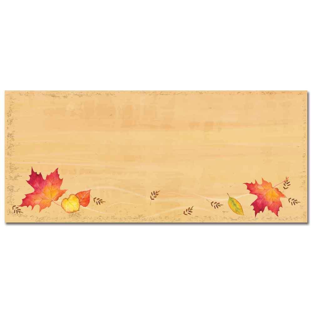 Falling Leaves Envelopes