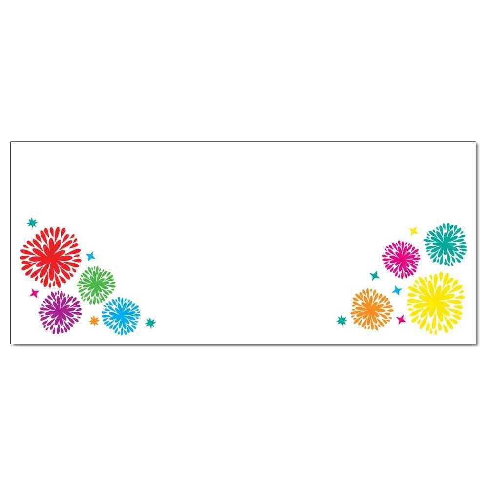 Fanciful Fireworks Envelopes