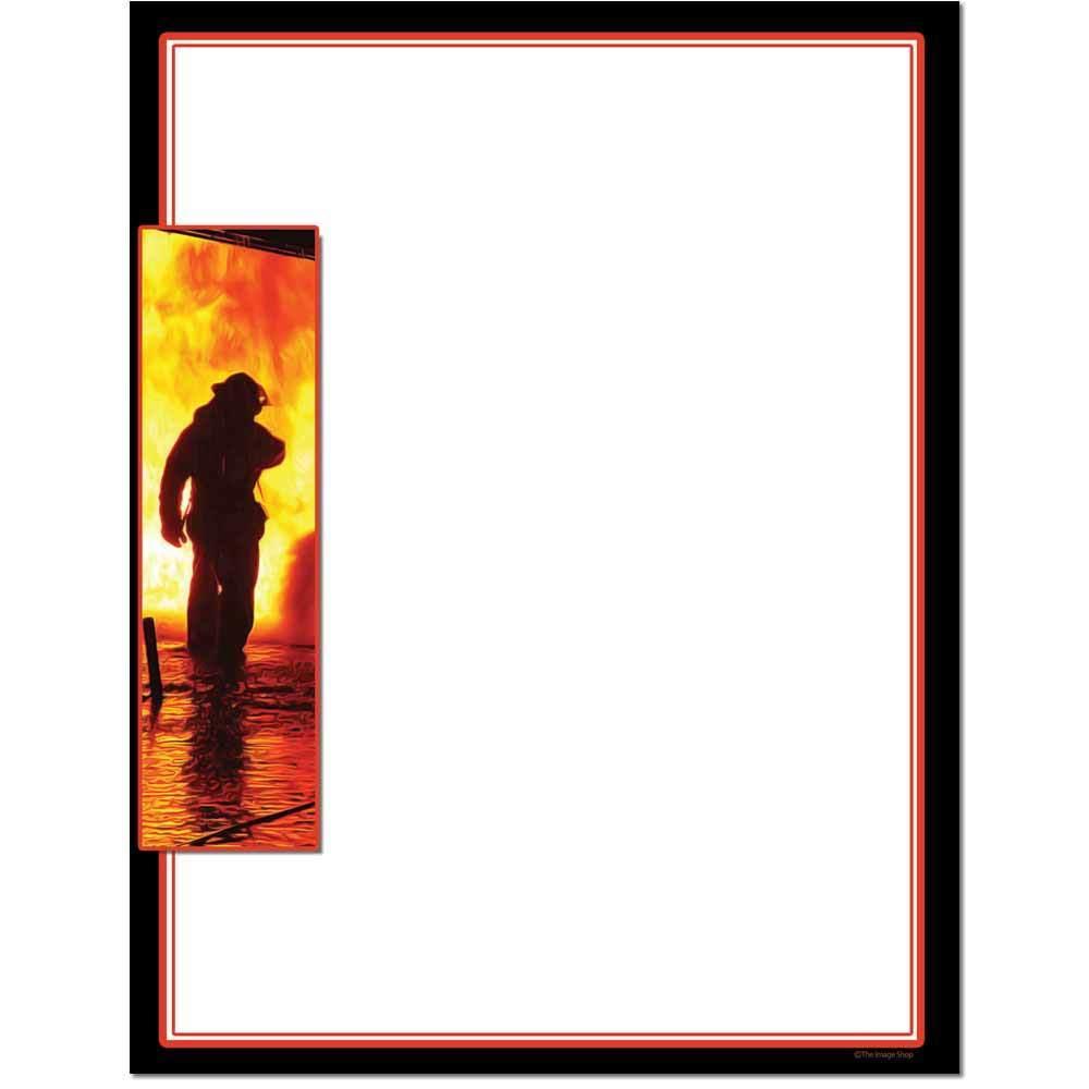 Fire Fighter Letterhead