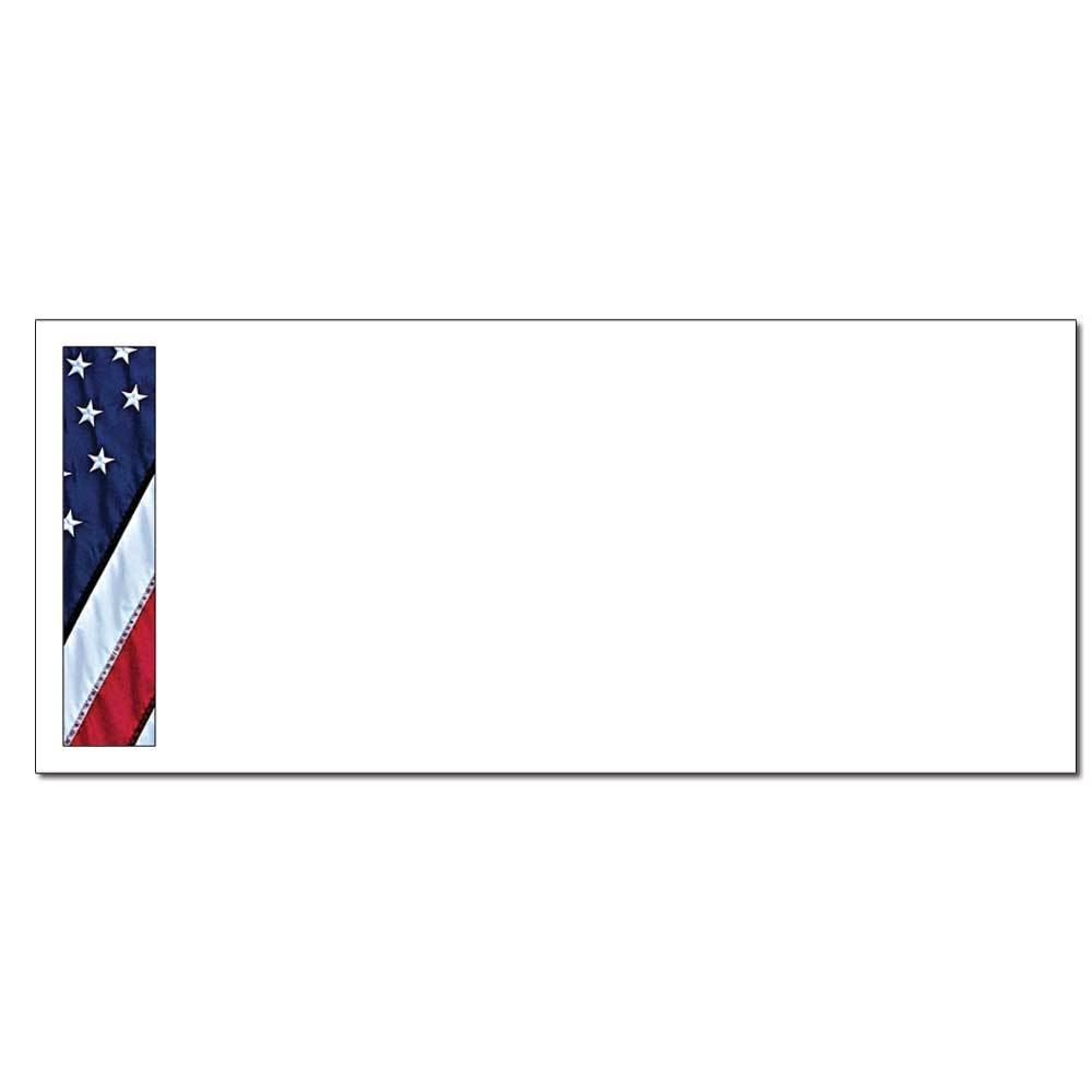 Flag Border Envelopes