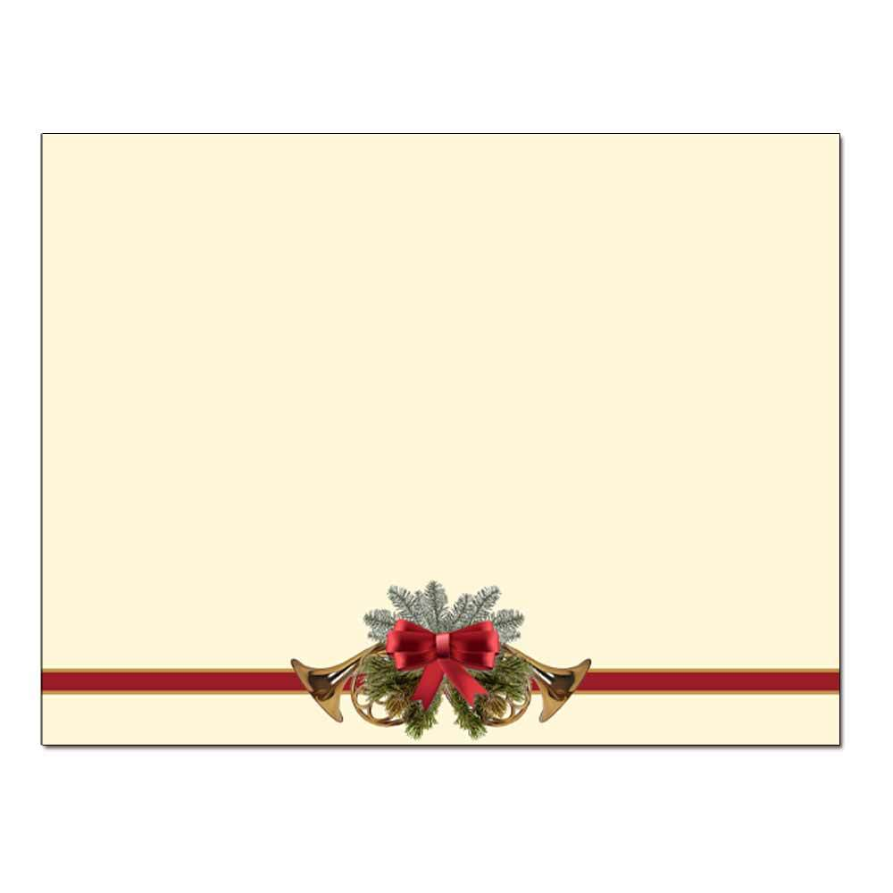 French Horns Post Card 48pk