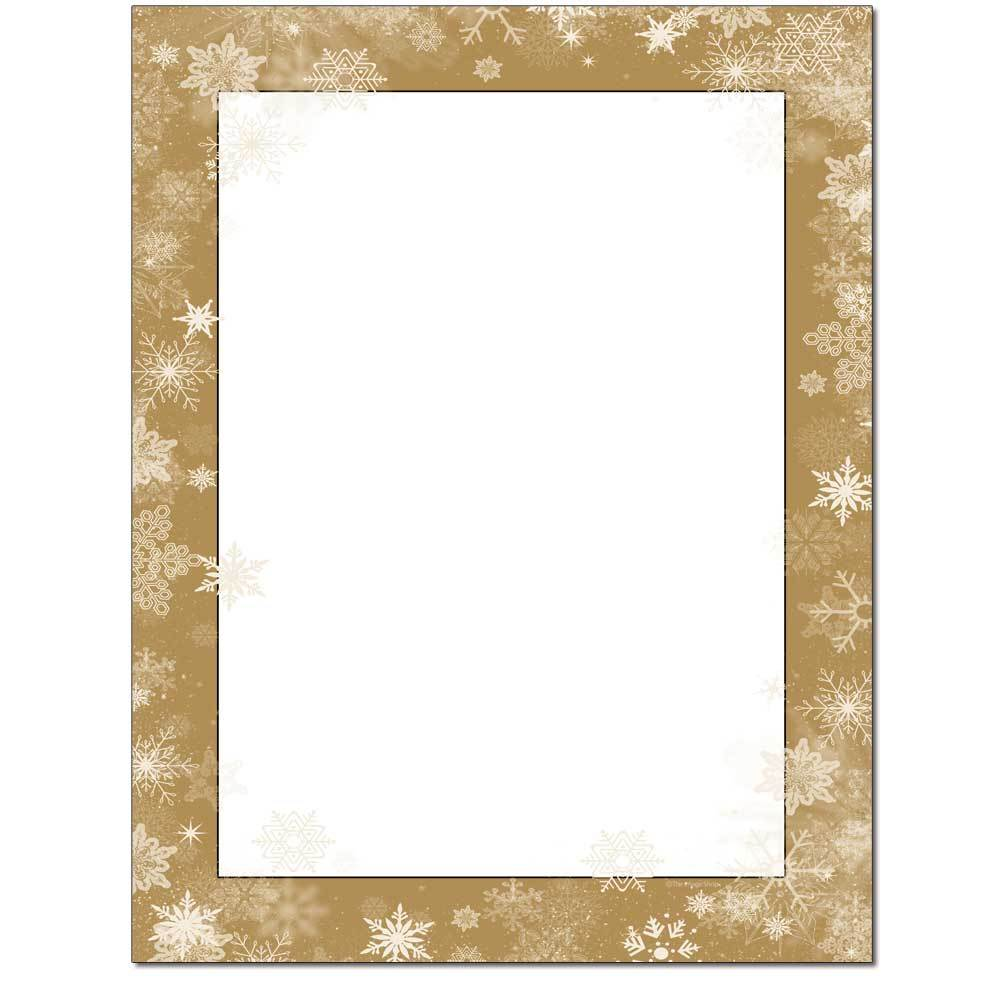 Frosted Wishes Letterhead